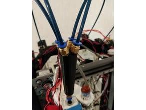 Multi-material feeder part, 4x-materials