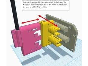 You Adjust Z-Axis Support for MPSM v1 or v2