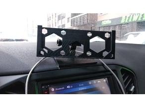 Universal phone holder for GoPro platform (in car)