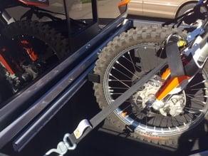 Nissan Utili-Track Motorcycle and Mountain Bike Wheel Chock