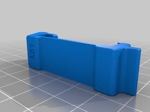 Prusa MK3 Filament Guide Clip Angled (thicker and wider clip)
