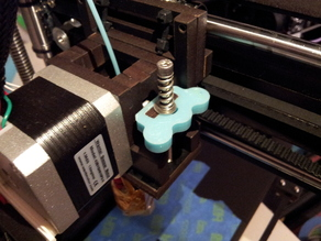 Qu-Bd Extruder spring plate with handles