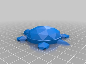 Low Poly Desk Turtle