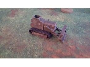 WW2 D-8 Armoured Bulldozer