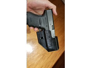 Glock 30 holster (for wall mounting)