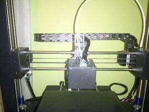 Anycubic i3 Mega X axis 10x15 dragchain holder