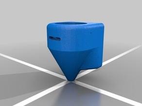 K40 laser cutter air assist fan duct