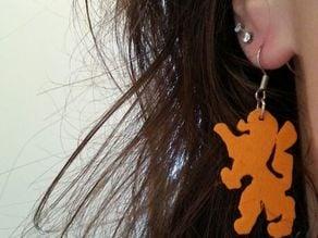 Dutch Lion Earings