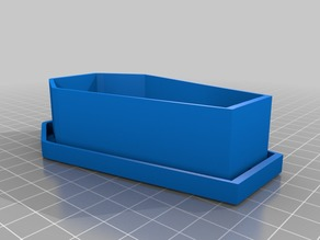 Coffin Planter with Drainage