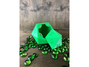 D20 Turn down Vault by Gravity Dice