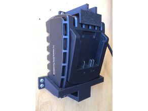 Workzone / Aldi Battery Charger Wall Brackets (Xfinity 20V / Gardenline)