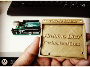Arduino Uno R3 Tray Case by Techie_Baksh