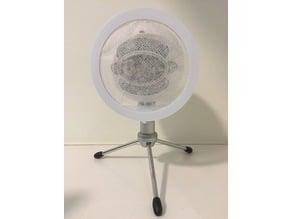 Parametric Blue Snowball Pop-Filter