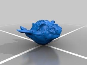 Dragon head - experiment with Sculptris