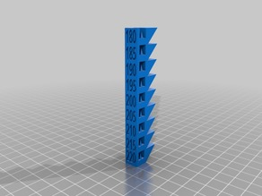 PLA Temperature Tower