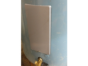 """Cover for """"OSO"""" water heater"""