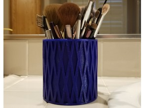 Makeup Brush Holder / Cup - Large