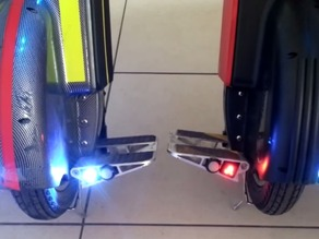 Pedal insert LED lights for Gotway unicycle