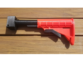 Nerf Stryfe AR15 / M4 Carbine Extendable Stock