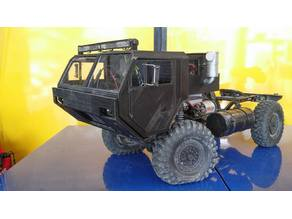 Oshkosh HEMTT Scale Body for Axial SCX10