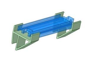 Plarail on lintel of simple
