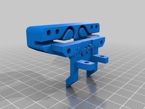 Anet A8 BL Touch Holder better hole