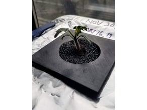 Hydro plant support rockwool alternative