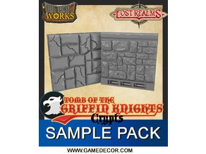 Tomb of the Griffin Knights - Crypts Sample Pack 1