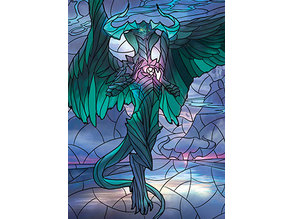 Ugin, the Ineffable - stained glass - litho