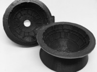 death star ice mold instructions