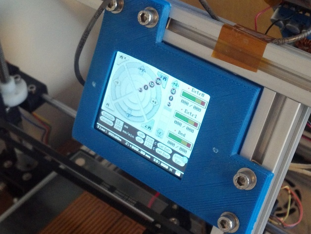 MendelMax Touch TFT LCD Mount