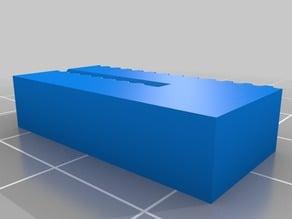 Calibration block for GT2 belt