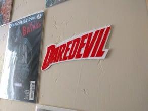 Daredevil Plaque