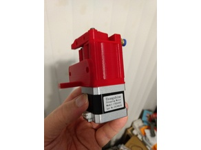 Compact Geared Bowden Extruder