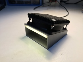 Solder Fume Extractor for 92 mm Fan with LED Light