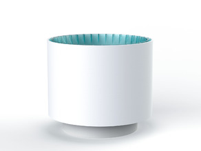 Biological air purifier, indoor planter, plant pot (Small)