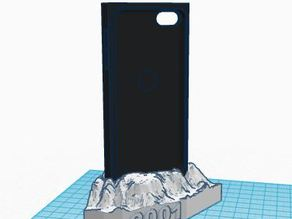charging dock for monolith ipod 5 case (from 2001 a space odyssey)
