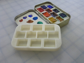 Altoids Tin Watercolor Palette