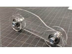 Laser Cut Chrysler PT Cruiser