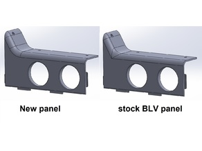 BLV MGN Cube - improved front panel look