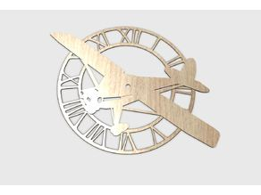 airplane clock
