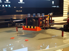 Graupner Alpha 250q race copter LED Schutz Vorne+hinten