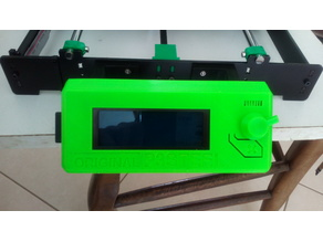 LCD 2004 case for P3STEEL (remix Original Prusa)