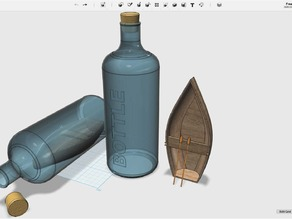Boat in a bottle #MakerEdChallenge