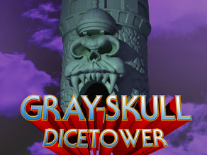 GraySkull Dice Tower - He-Man Inspired