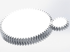 Gear generator for Solidworks (Straight / Helix / Herringbone)