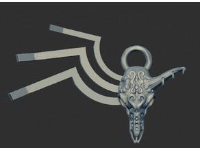 Animal Skull Pendant