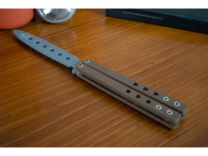 Benchmade 62 balisong butterfly knife M3 fasteners