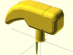 BIC hamer (claw hamer)