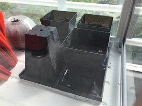 base for seed pot